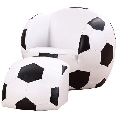HOMCOM Sessel »Kindersofa als Fußball«