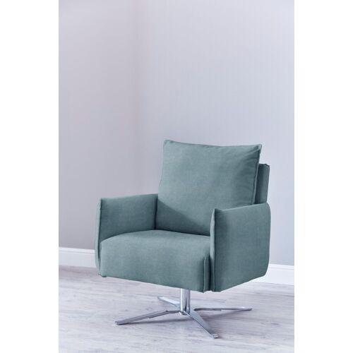 SCHÖNER WOHNEN-Kollektion Sessel »Lineo«, aqua Matrix