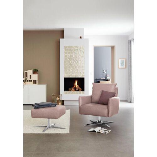 SCHÖNER WOHNEN-Kollektion Sessel »Lineo«, rosa Matrix