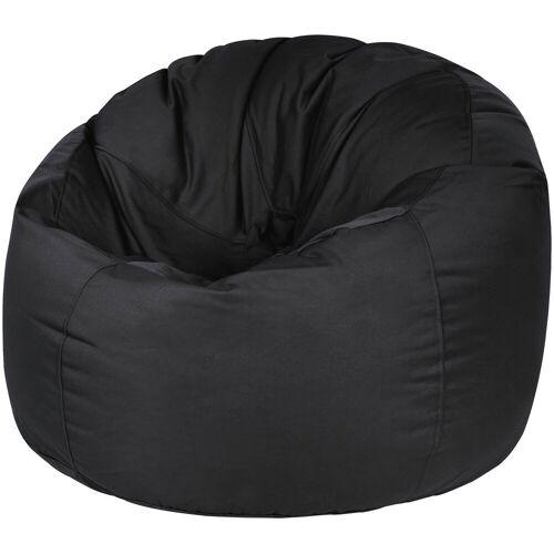 OUTBAG Sitzsack »Donut Plus«, Outdoor-Sitzsack, schwarz
