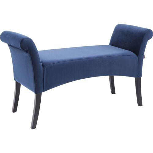 KARE Sitzbank »Polsterbank Motley Samt Blau«