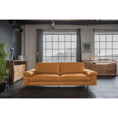 KAWOLA Sofa »ELVIRA«, Ledersofa verschiedene Größen u. Farben, cognac