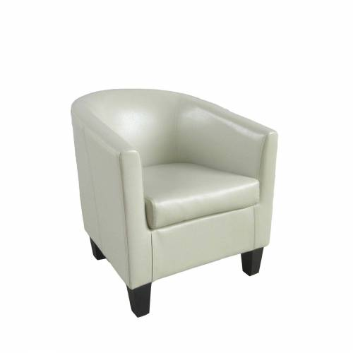 HTI-Line Cocktailsessel »Cocktailsessel Morgan PVC«, Cocktailsessel, Beige