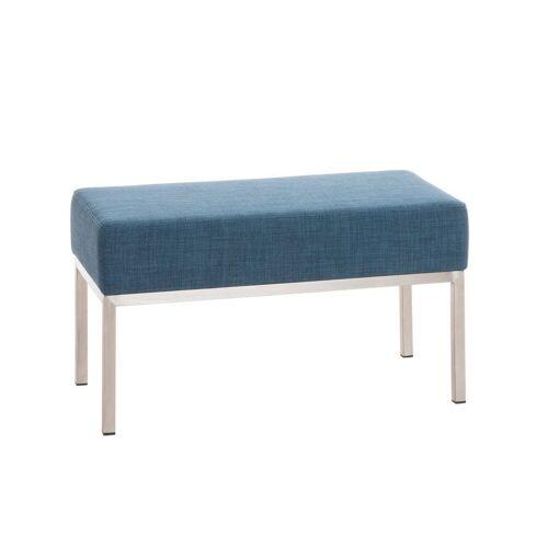 CLP Sitzbank »Lamega Stoff«, bequem gepolstert, blau