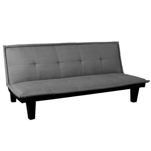 MCW Schlafsofa »-C87«, Klappbares Sofa, Bequeme Polsterung, dunkelgrau