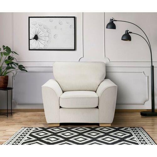 DELAVITA Sessel »Savoy«, gemütlicher Sessel,k in 2 Bezugsqualitäten, natur