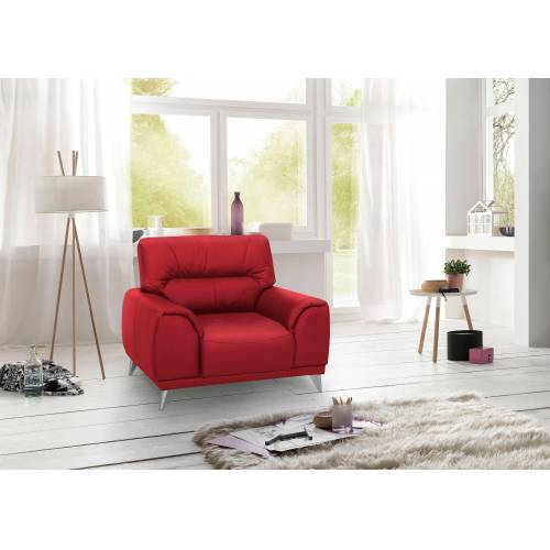 Places of Style Sessel »Weston«, in modernem Design, red   red