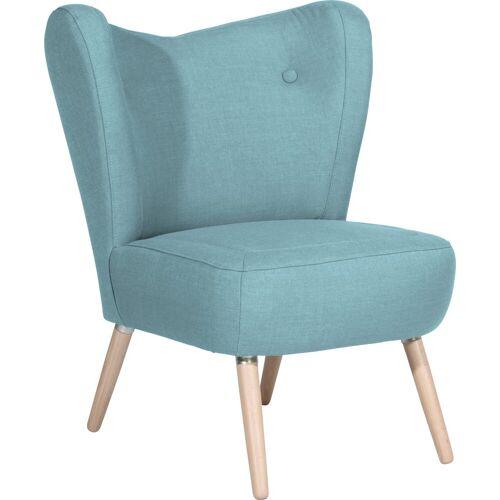 Max Winzer® Sessel »Stella«, im Scandinavian Design, aqua