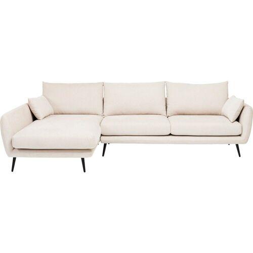 KARE Sofa »Ecksofa Amalfi Links Creme 275cm«