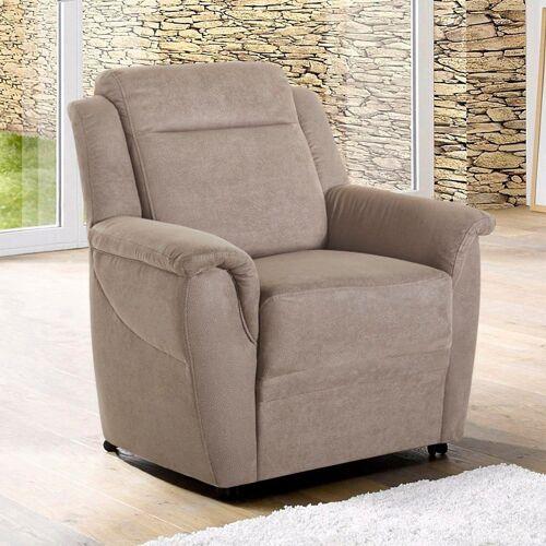 sit&more Sessel, auf Rollen, grau