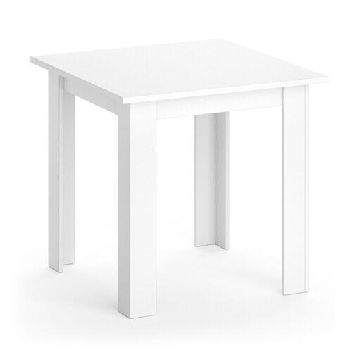 Vicco Esstisch »KARLOS Esszimmertisch 80cm Weiß Wohnzimmer Küchentisch Tisch«