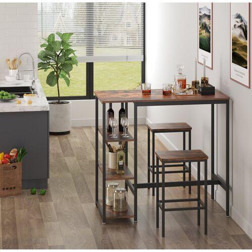 VASAGLE Bartisch »LBT11X«, Esstisch, Küchentisch, vintage