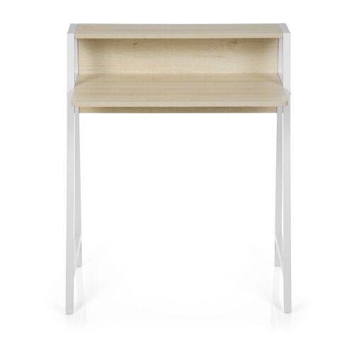 hjh OFFICE Schreibtisch »Schreibtisch DUMONT«, Ahorn / Weiß