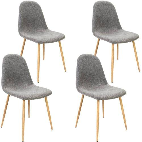 Deuba Stuhl Stilvoll aber auch gleichzeitig modern., Grau