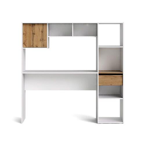 ebuy24 Schreibtisch »Plus Schreibtisch integriert in ein Regalsystem, W«