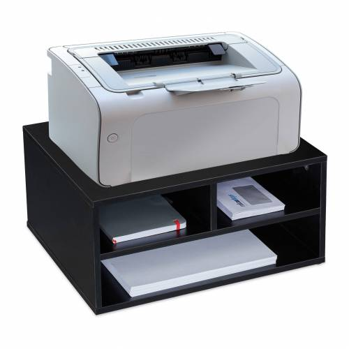 relaxdays Druckertisch »Druckerständer Schreibtisch«