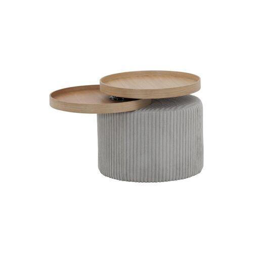 Trebela Beistelltisch »Beistelltisch «, Design Beistelltisch mit zwei Platten