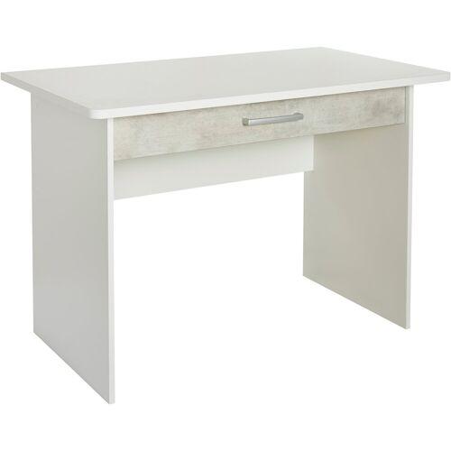 rauch BLUE Schreibtisch »Mailo«, weiß-Betonoptik