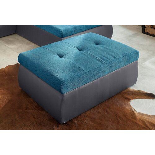 sit&more Hocker, fango/türkis