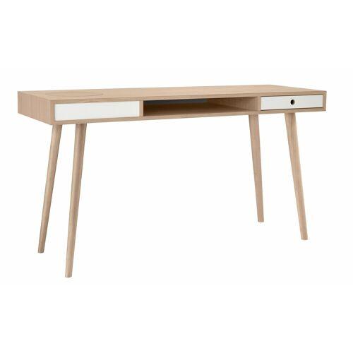 PBJ Schreibtisch »Classic«, Nordic Design in white oak