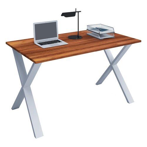 VCM Schreibtisch, B. 80 x T. 50 cm: Kern-Nussbaum