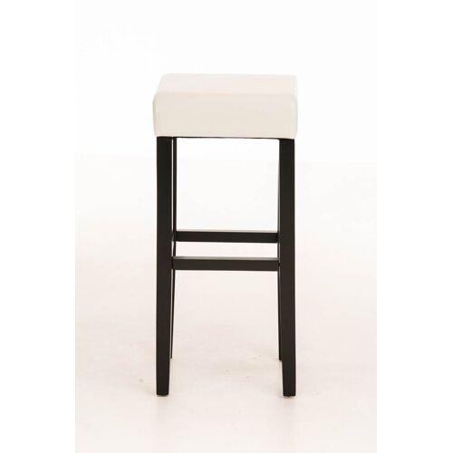 CLP Barhocker »Judy Kunstleder«, mit hochwertiger Polsterung, schwarz/weiß