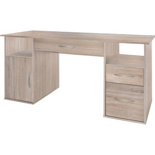 Schreibtisch, Eiche-Sägerauh   Eiche-Sägerauh   Eiche-Sägerauh