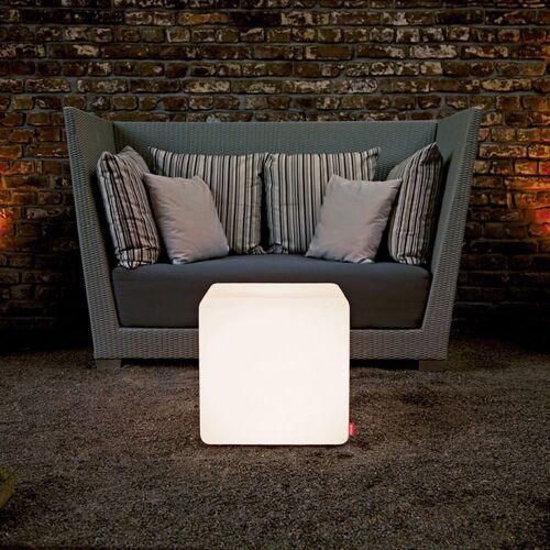 Moree Stehlampe »Outdoor Sitzwürfel Cube mit Farbwechsel«