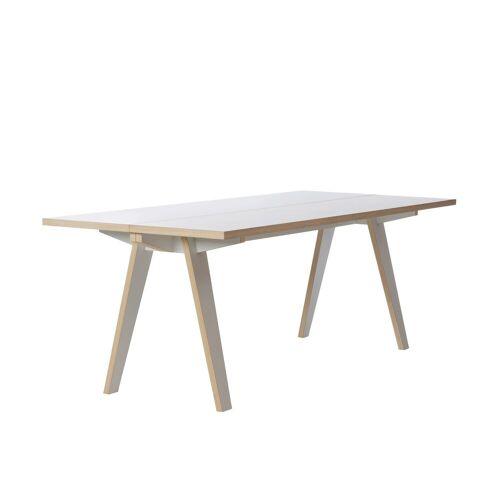 Tojo Tisch »-steck Zerlegbarer«, weiß