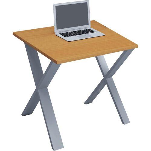 """VCM Schreibtisch »Premium Schreibtisch """"Lona XSI""""«, B. 80 x T. 80 cm: Buche"""
