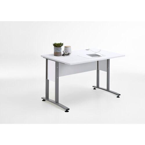 FMD Schreibtisch »Calvi«, weiß Brilliant