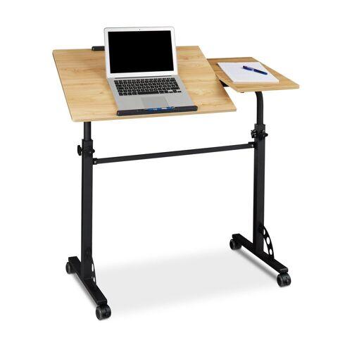 relaxdays Laptoptisch »Laptoptisch groß Premium XXL«, Gelb