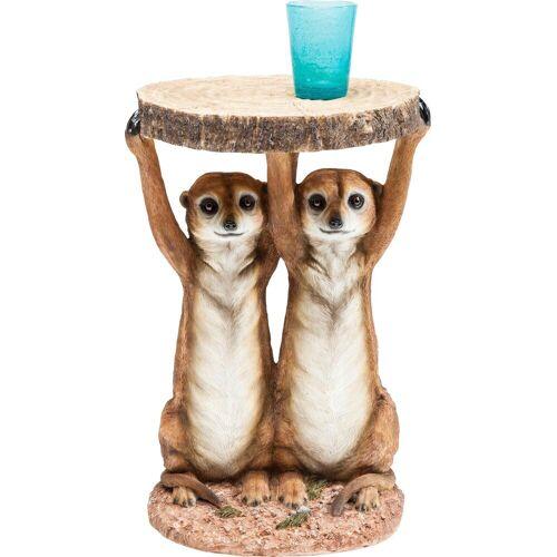 KARE Beistelltisch »Animal Meerkat Sisters«