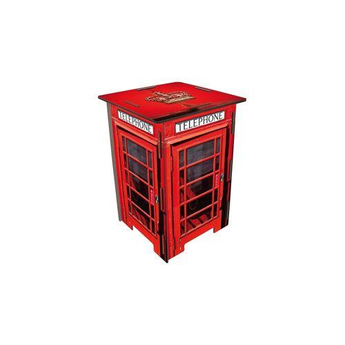 WERKHAUS® Photo-Hocker Telefonzelle London, rot-kombi