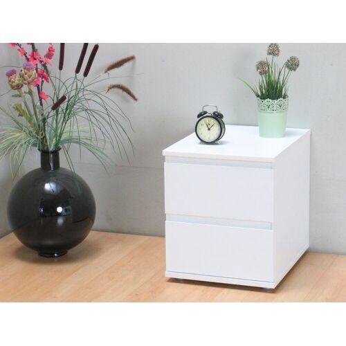 ebuy24 Nachttisch »Mia Nachttisch Breite 40 cm, Höhe 48,5 cm, Tiefe 3«