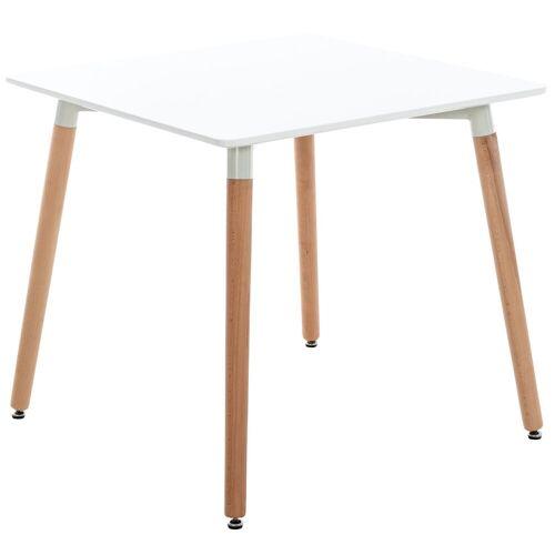 CLP Gartentisch »Viborg«, mit MDF Tischplatte, weiß