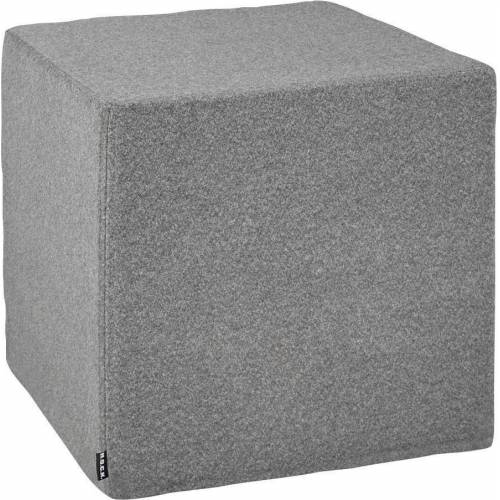 H.O.C.K. Hocker »Livigno Cube« (1 St), 45/45/45 cm, grau