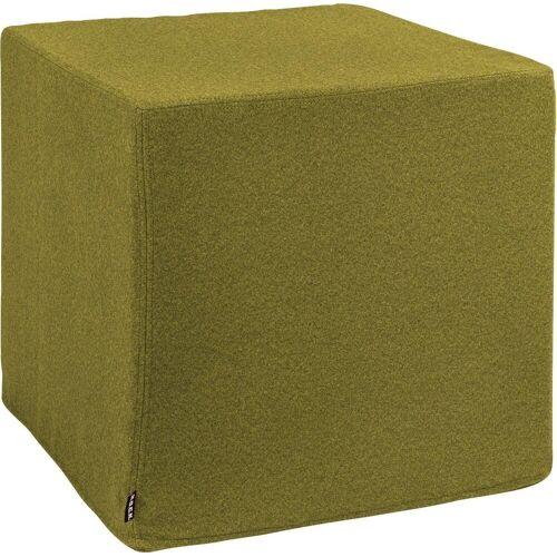 H.O.C.K. Hocker »Livigno Cube« (1 St), 45/45/45 cm, grün