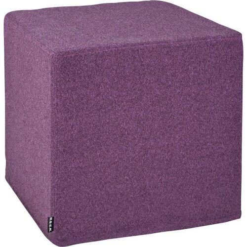 H.O.C.K. Hocker »Livigno Cube« (1 St), 45/45/45 cm, lila