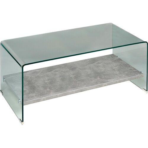 PRO Line Couchtisch, Glas/ Betonoptik