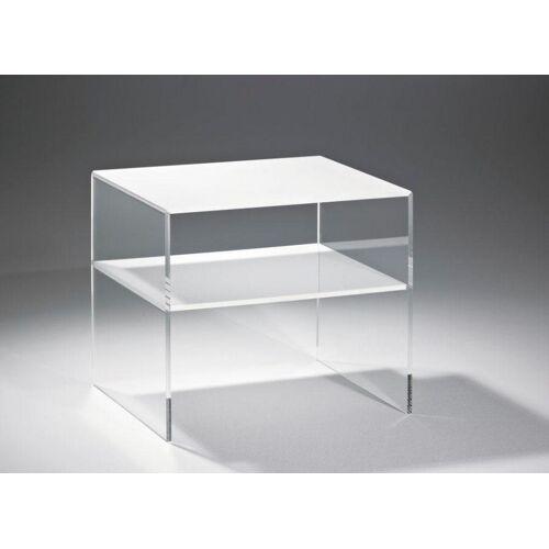 Places of Style Couchtisch »Remus«, aus Acrylglas, Farbe Weiß