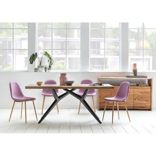 SIT Esstisch »Tables«, mit elegantem Metallgestell, Mango