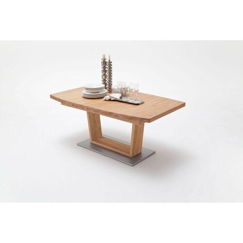 MCA furniture Esstisch »Cantania B«, Wildeiche   Wildeiche-Schwarz   Wildeiche