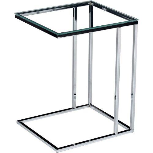 Beistelltisch, Metall/Glas