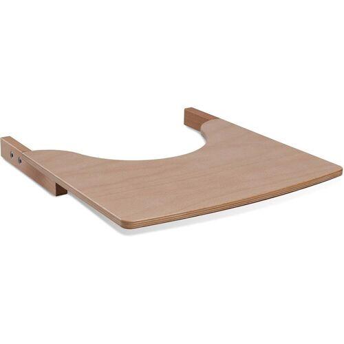 tiSsi® Hochstuhltablett »Ablagebrett aus Holz für Hochstuhl, »Natur««, Holz, für den Hochstuhl
