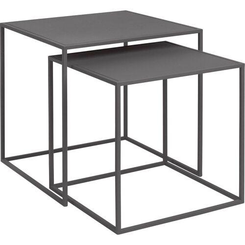 BLOMUS Beistelltisch »FERA« (Set, 2), grau (steel gray)