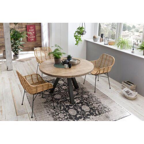 SIT Esstisch »Tops&Tables«, mit Massivholzplatte aus Mangoholz, natur