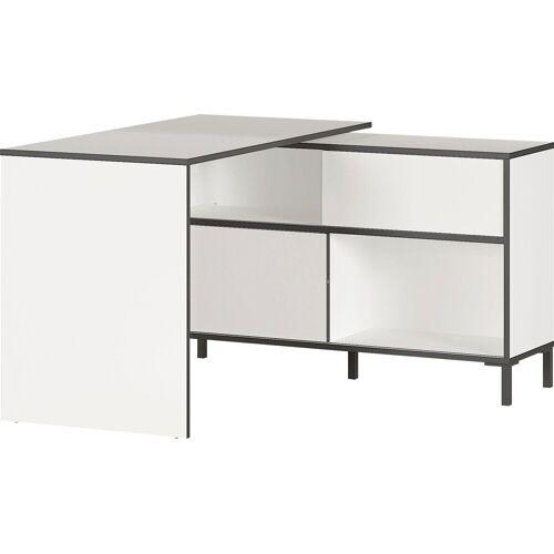 GERMANIA Schreibtisch »Laredo«, Schreibtisch mit integriertem Sideboard
