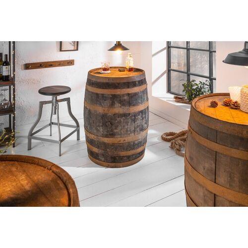 riess-ambiente Stehtisch »DEKOFASS 88cm natur«, im Whiskyfass-Design