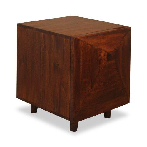 relaxdays Nachtschrank »Nachtschrank Holz«